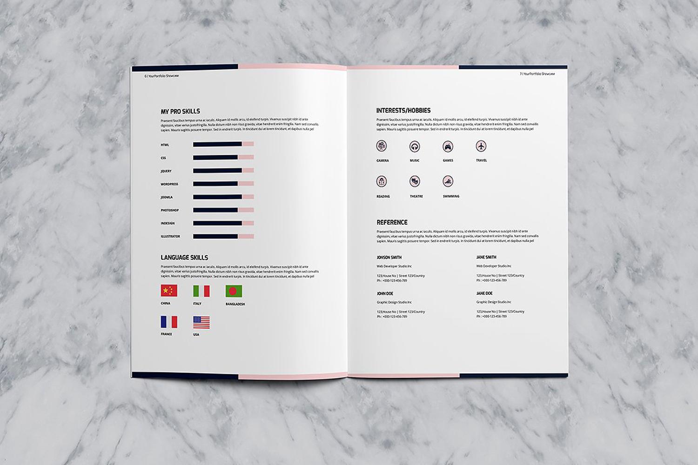 Designer Portfolio-48 Pages example image 6