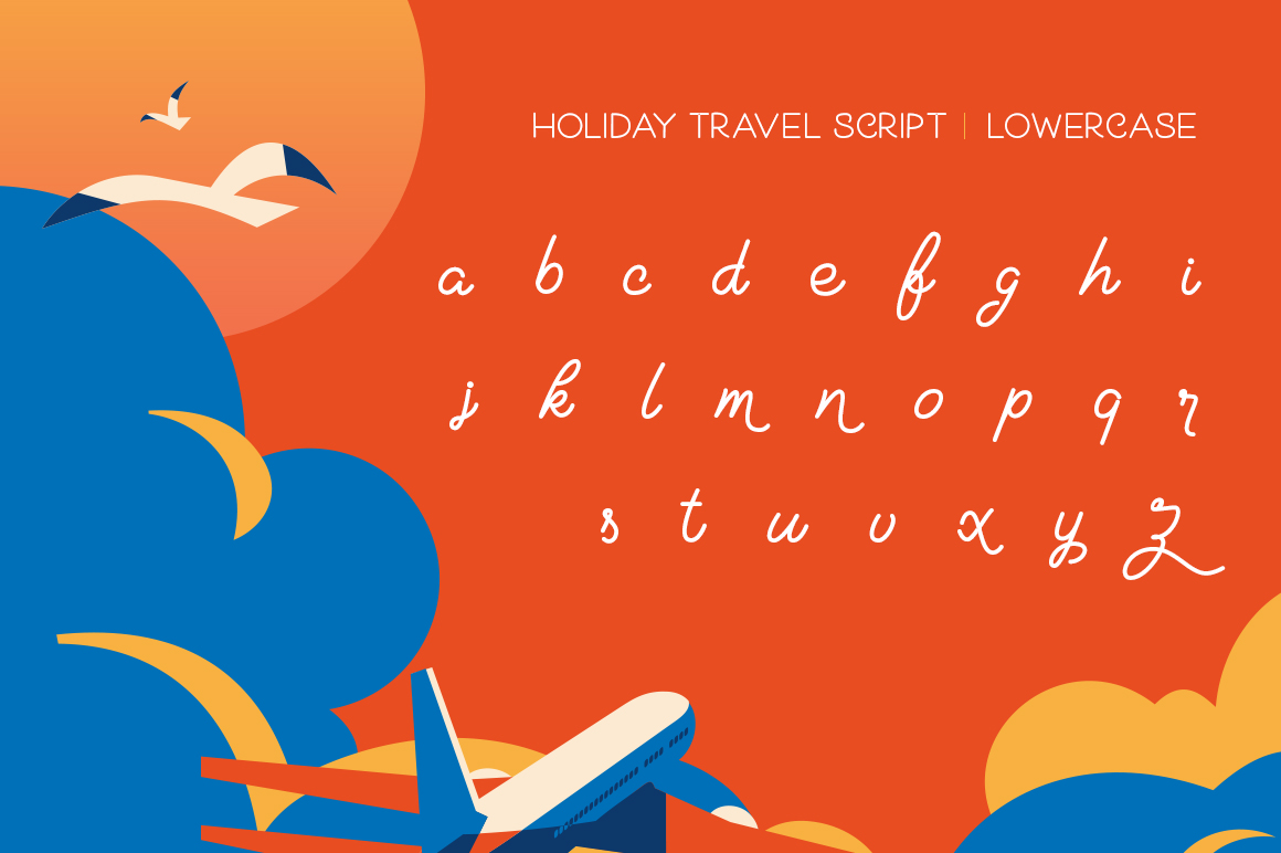 Holiday Travel Font Duo example image 7