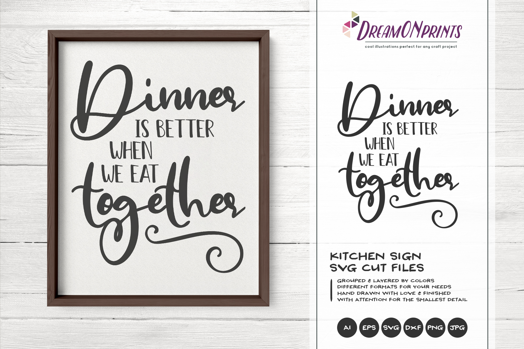 Kitchen SVG Bundle - Kitchen Sign Making SVG example image 9