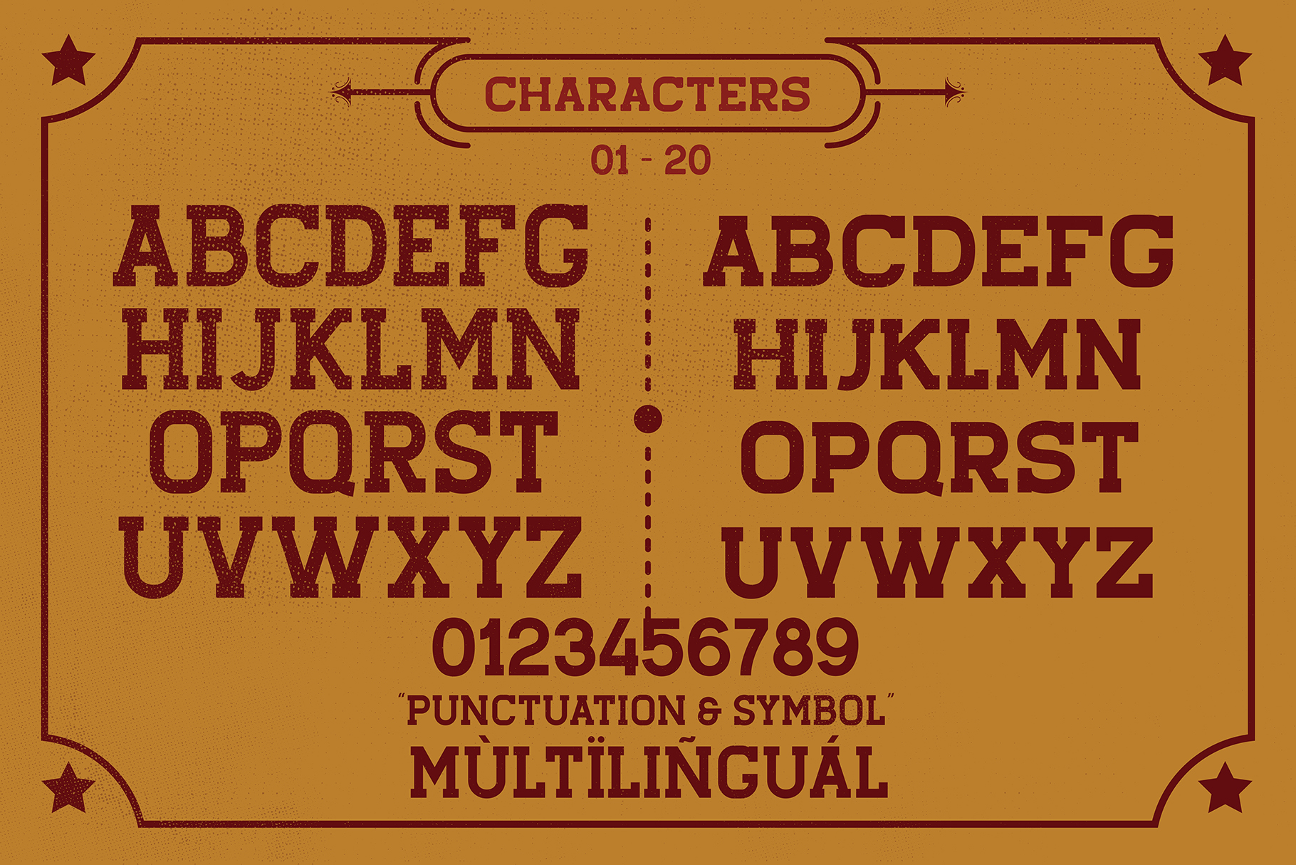 STENGKOL - 20 Font Family example image 7
