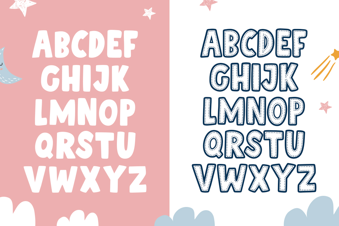 Patchwork Font Duo example image 5
