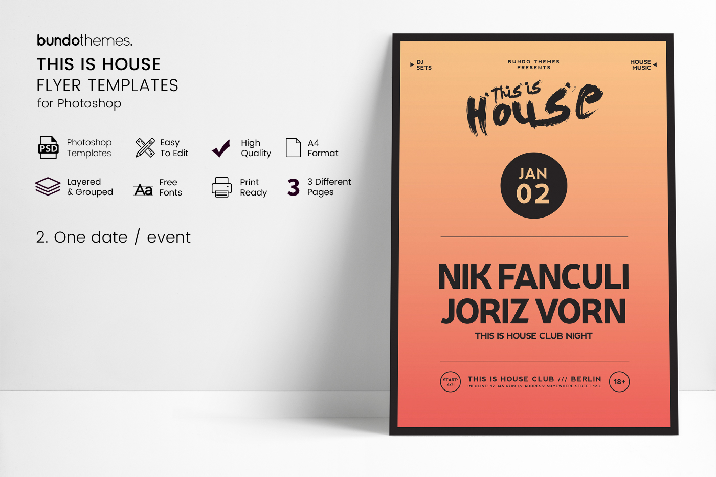 This Is House Flyer Templates example image 4