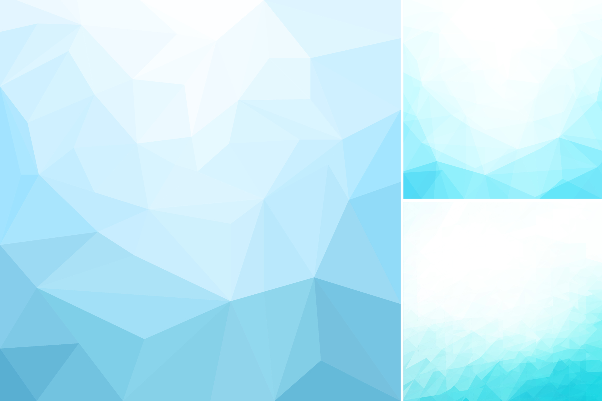 Blue abstract geometric backgrounds. example image 3