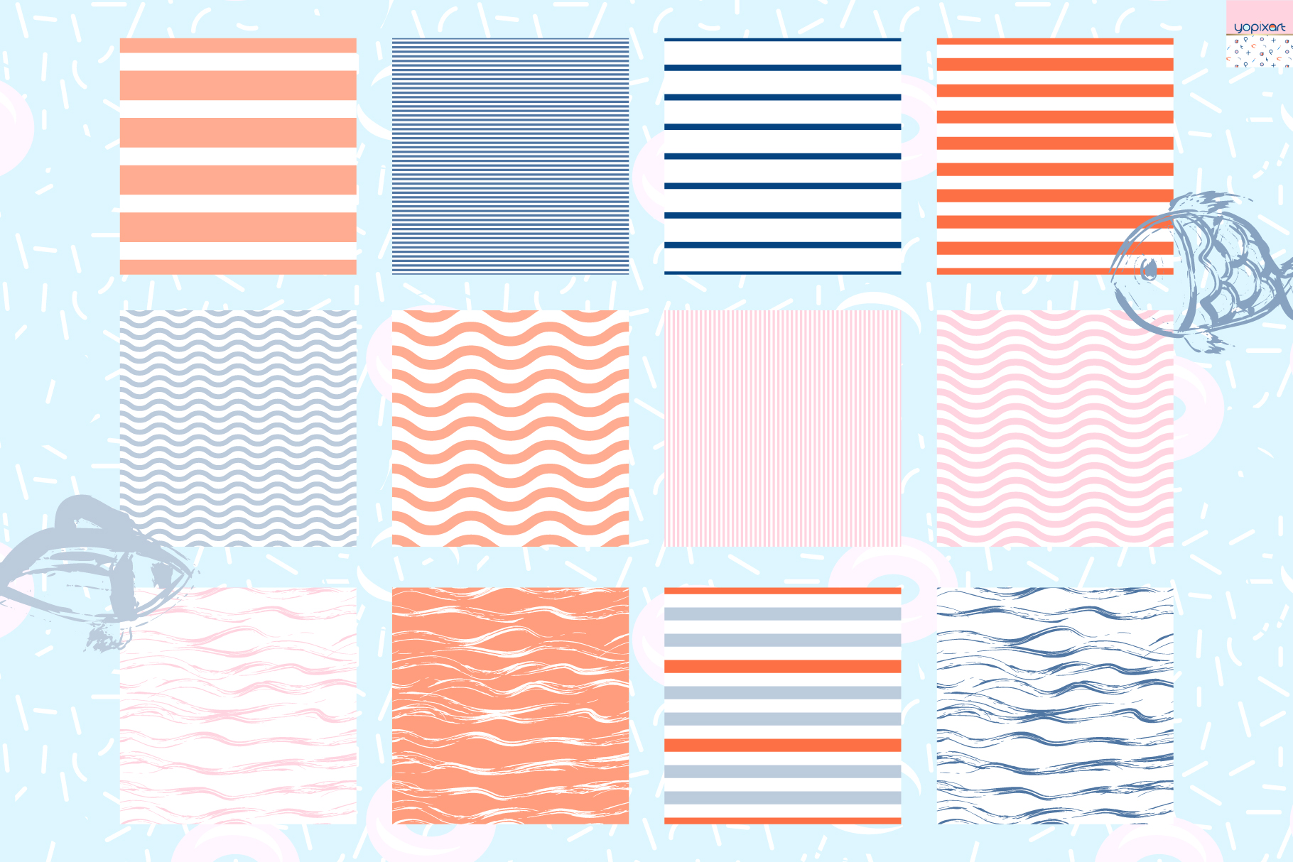Summer Vibes - Graphics & Patterns example image 9