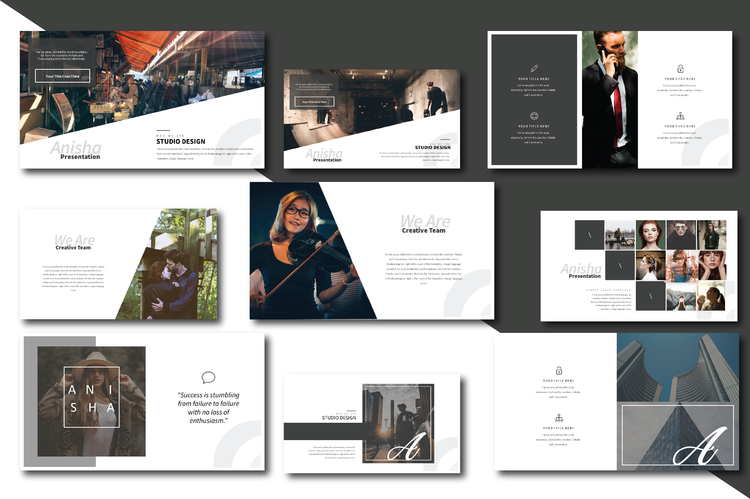 Anisha Simple Clean Template example image 6