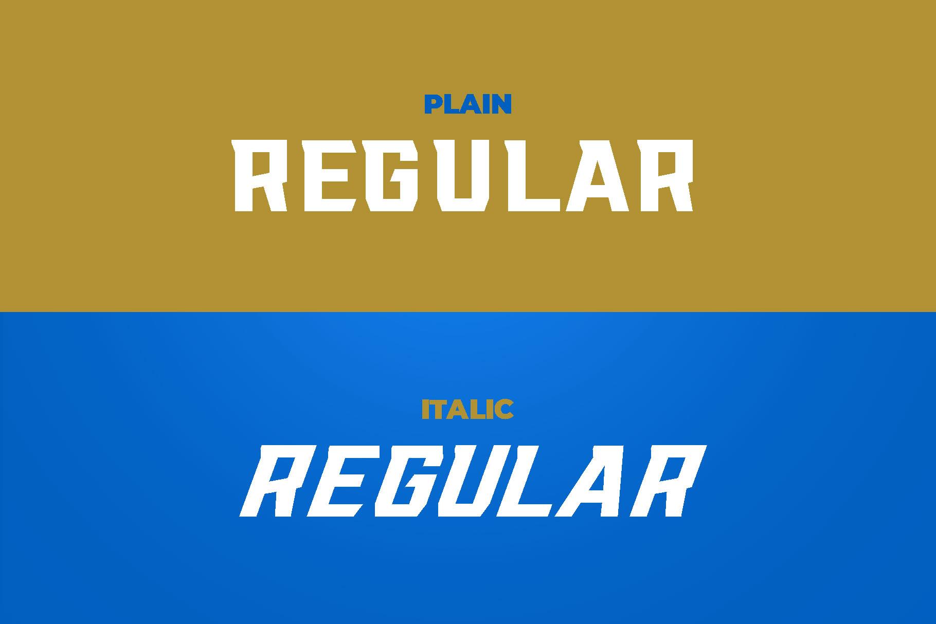 RACKIS Display Font example image 7