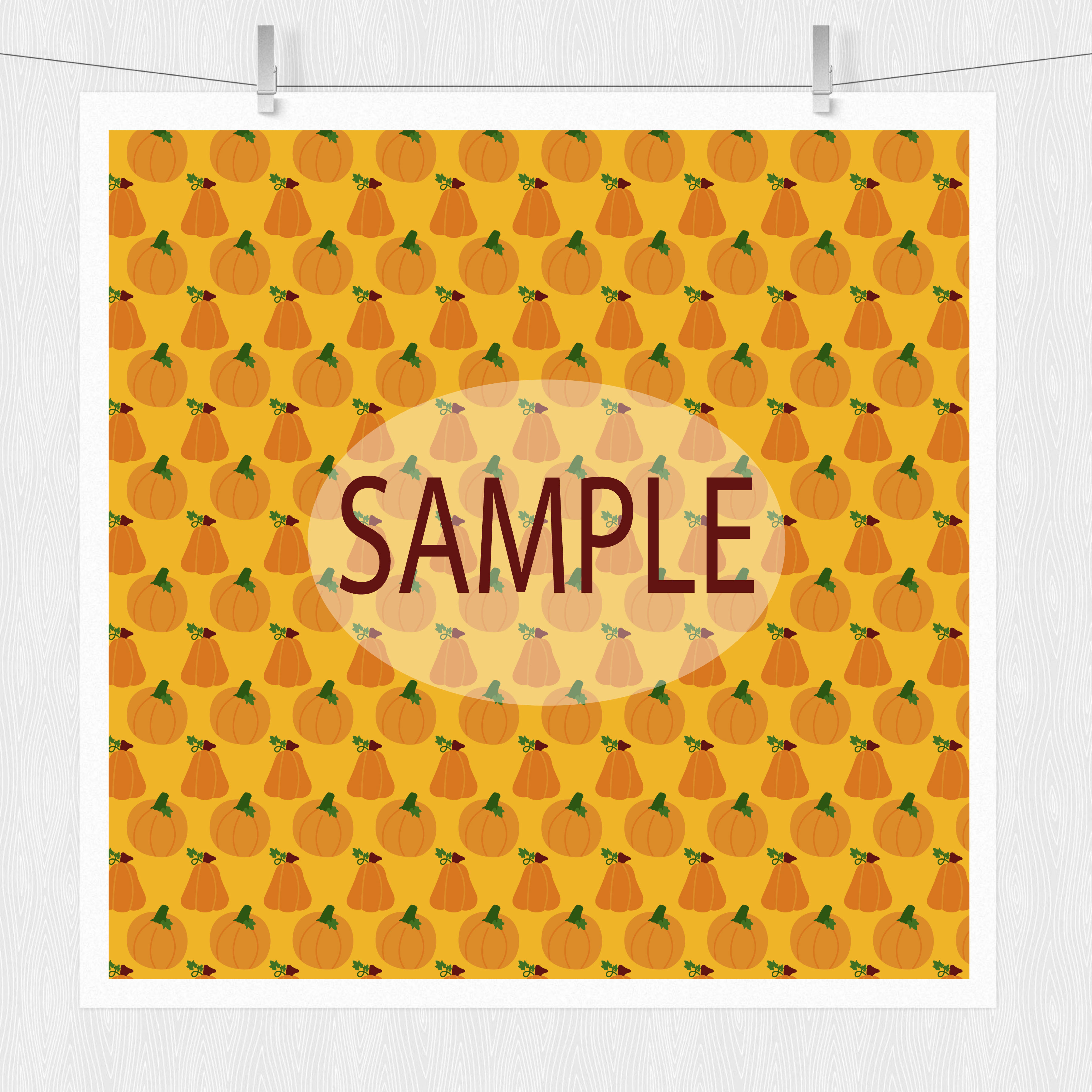 Pumpkin Digital Paper example image 6