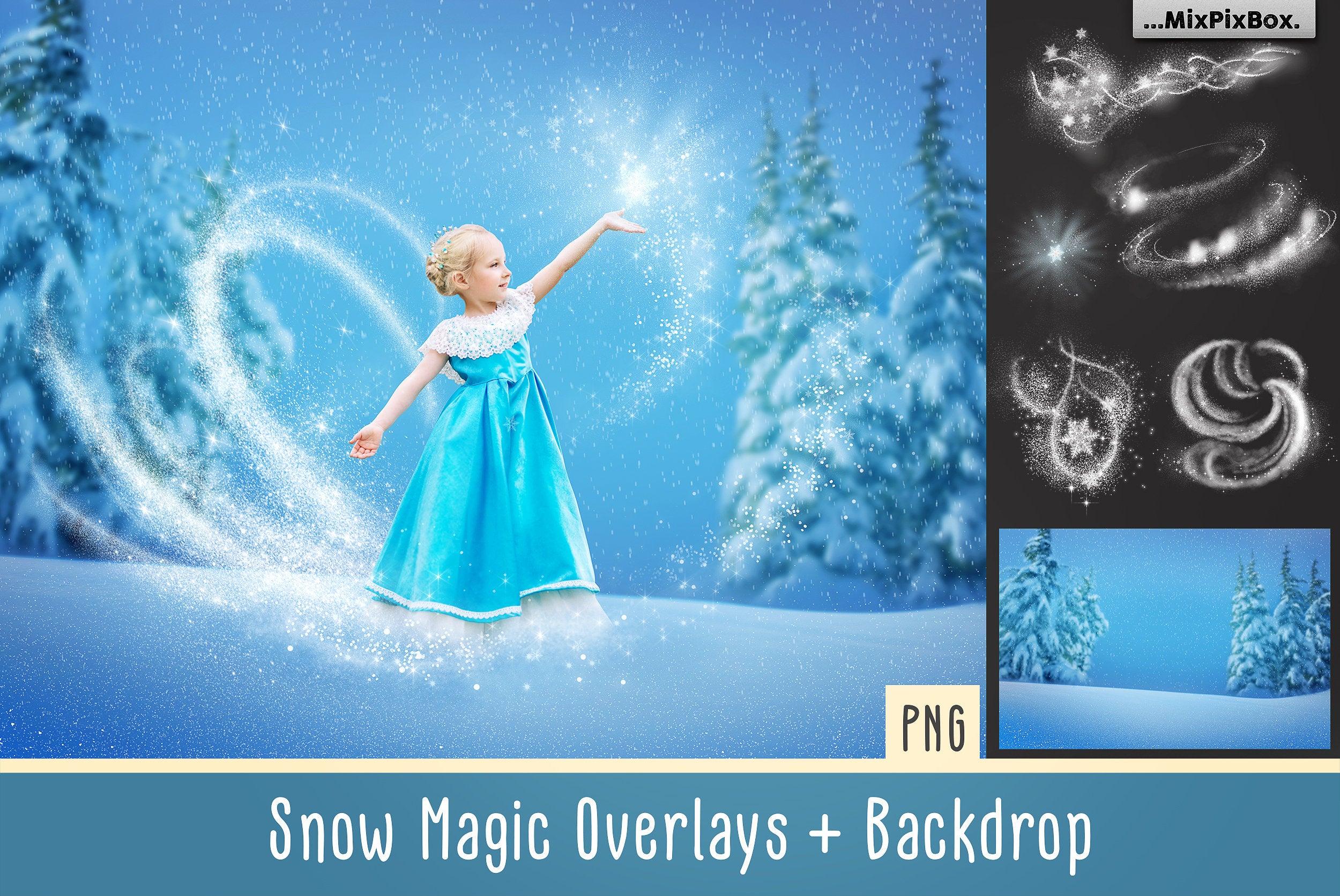 Snow Magic Overlays example image 1
