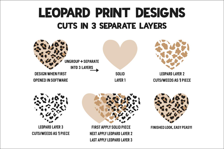 Merry Christmas - Leopard - Buffalo Plaid Christmas Tree SVG example image 3
