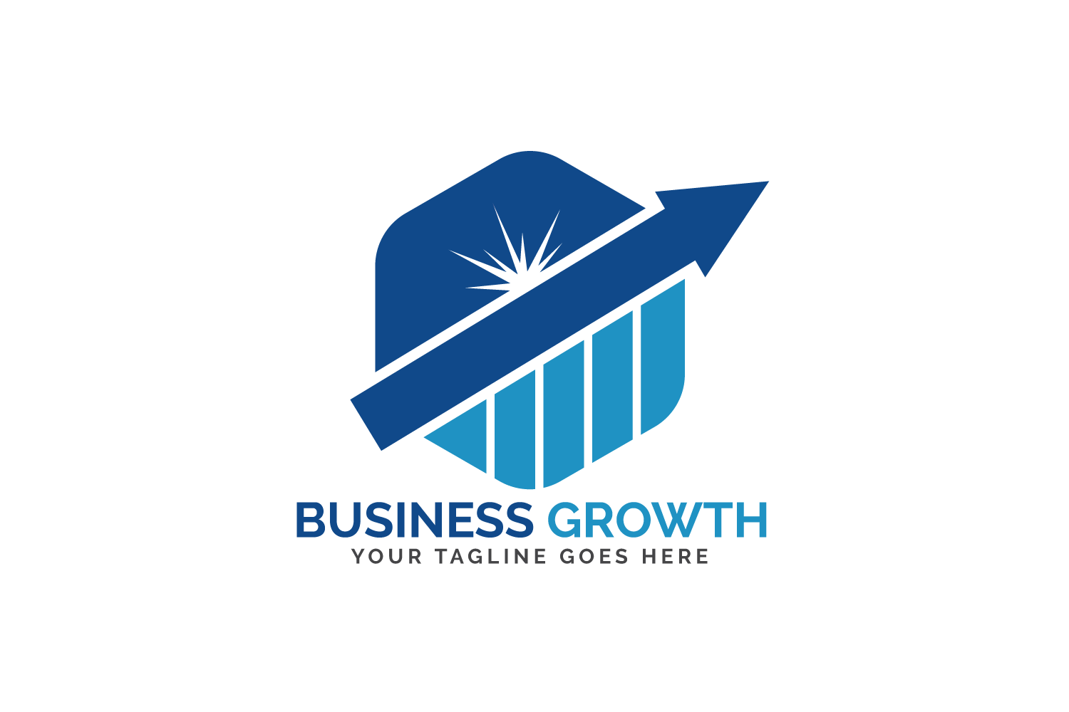 Business Growth Logo Design. example image 2