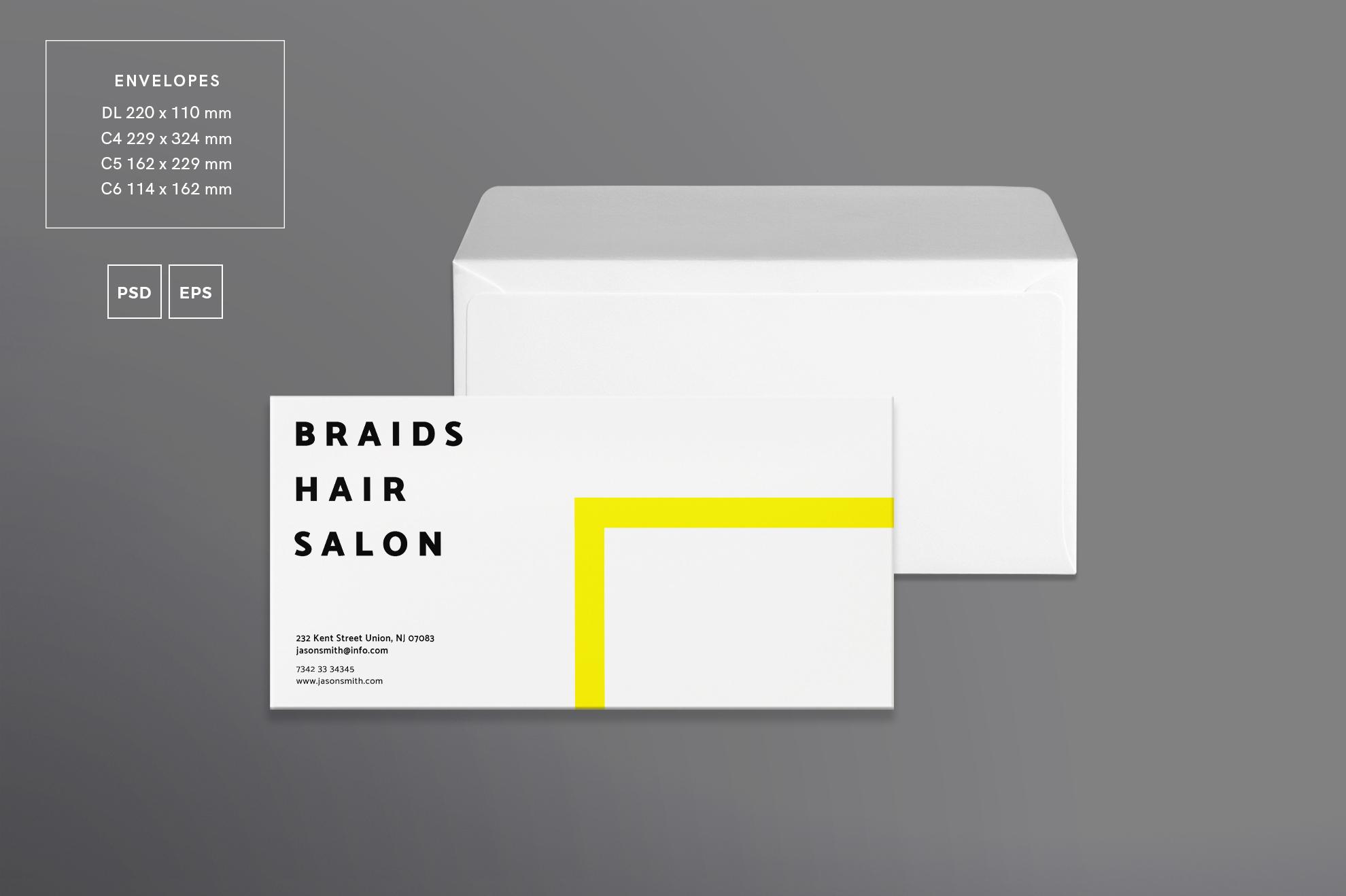 Hair Salon Barbershop Design Templates Bundle example image 5