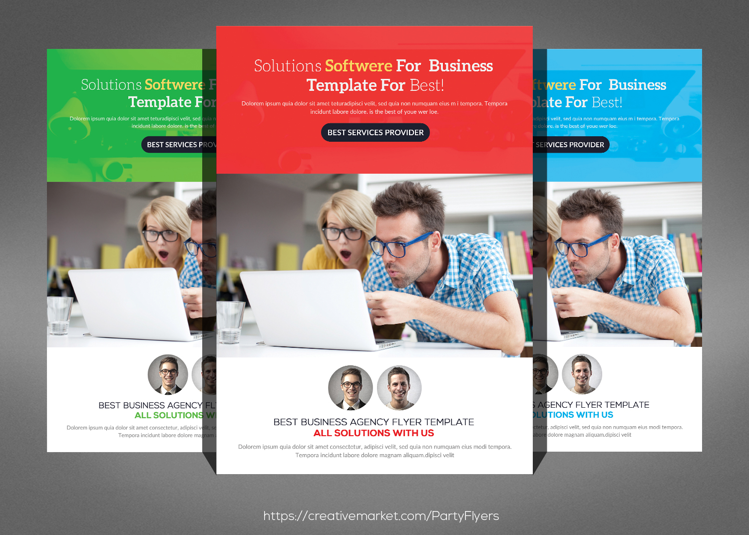 Multipurpose Business Flyer Bundle example image 3