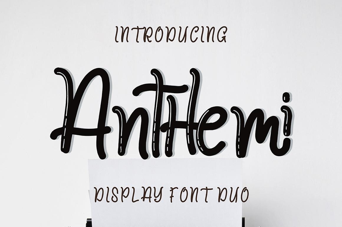 Anthemi example image 1