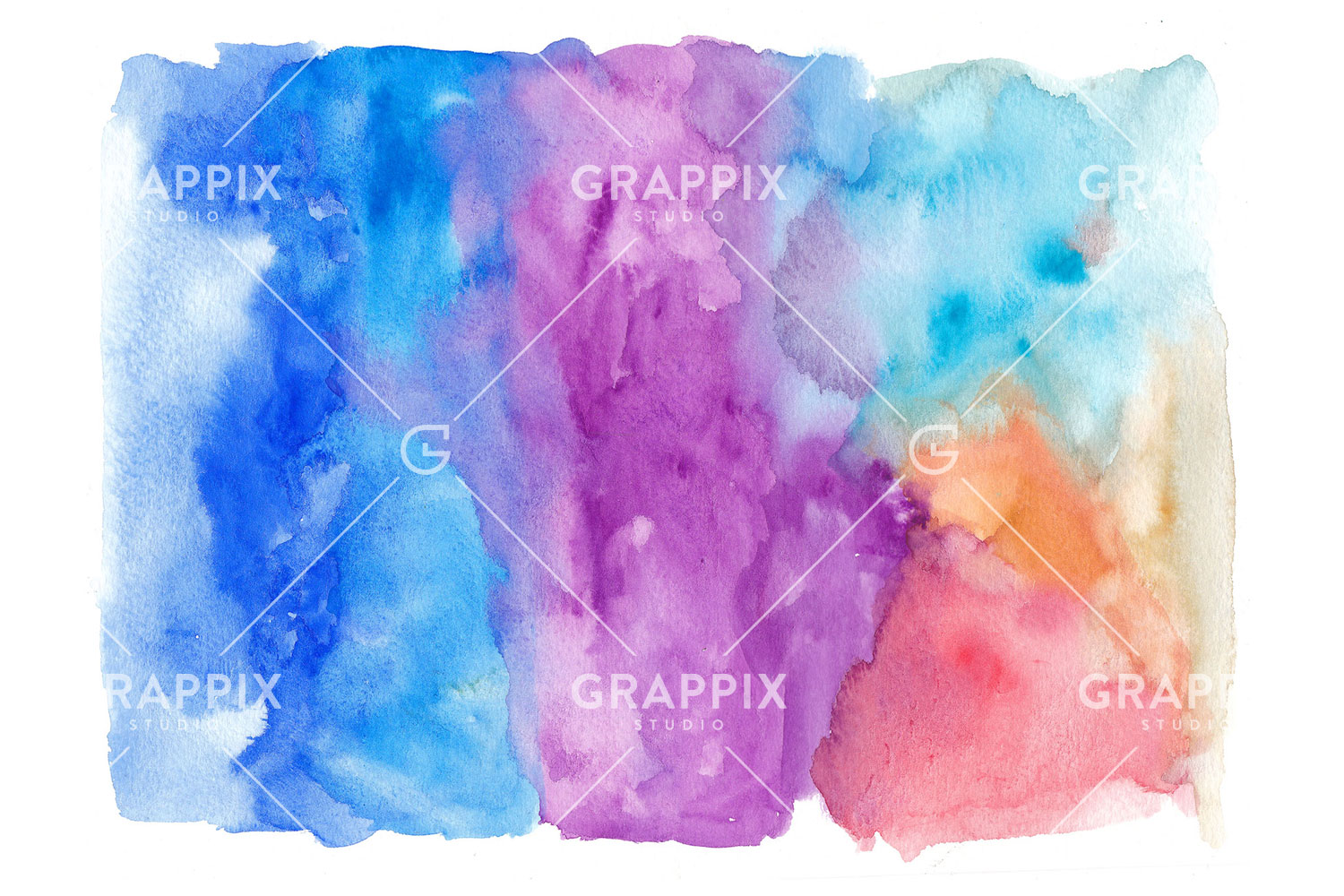 14 Abstract Colorful Watercolor Backgrounds example image 7