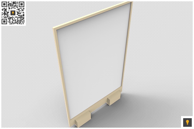 Flyer Display 3D Render example image 10
