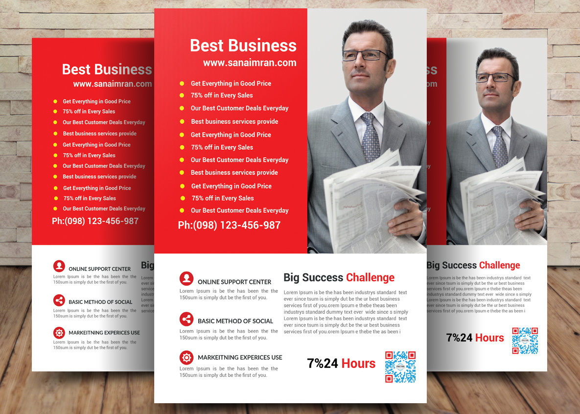 Business Flyer Template example image 1