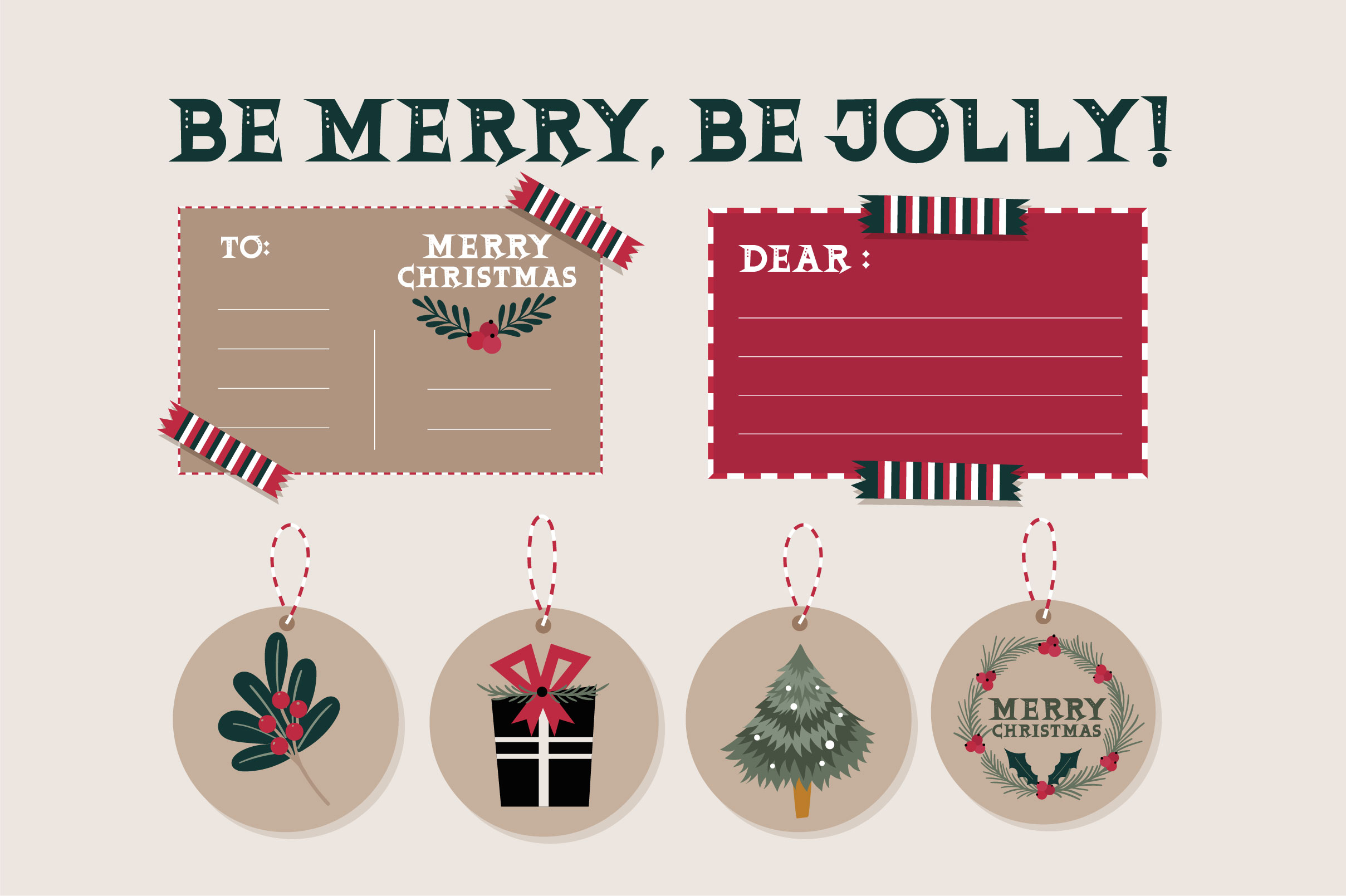 Christmas Glee example image 5
