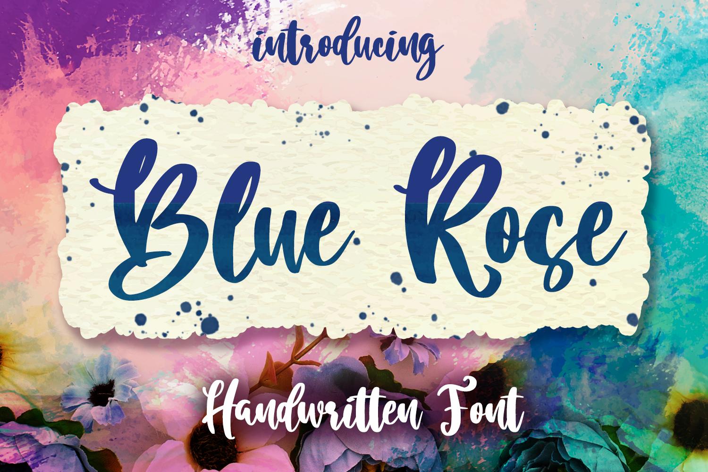 Blue Rose Script example image 1