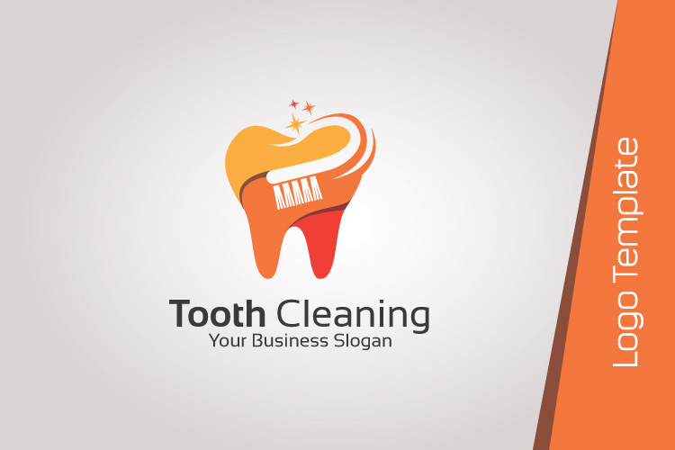 Dental Logo Template - Tooth Cleaning example image 3