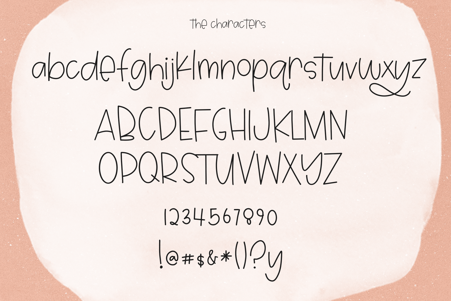 Dear May - A Fun Font with Doodles! example image 14