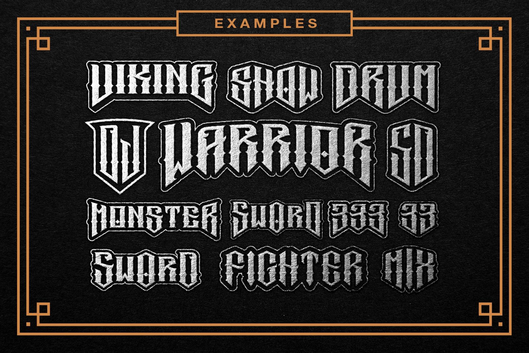 Sword Font Logo Creator example image 8