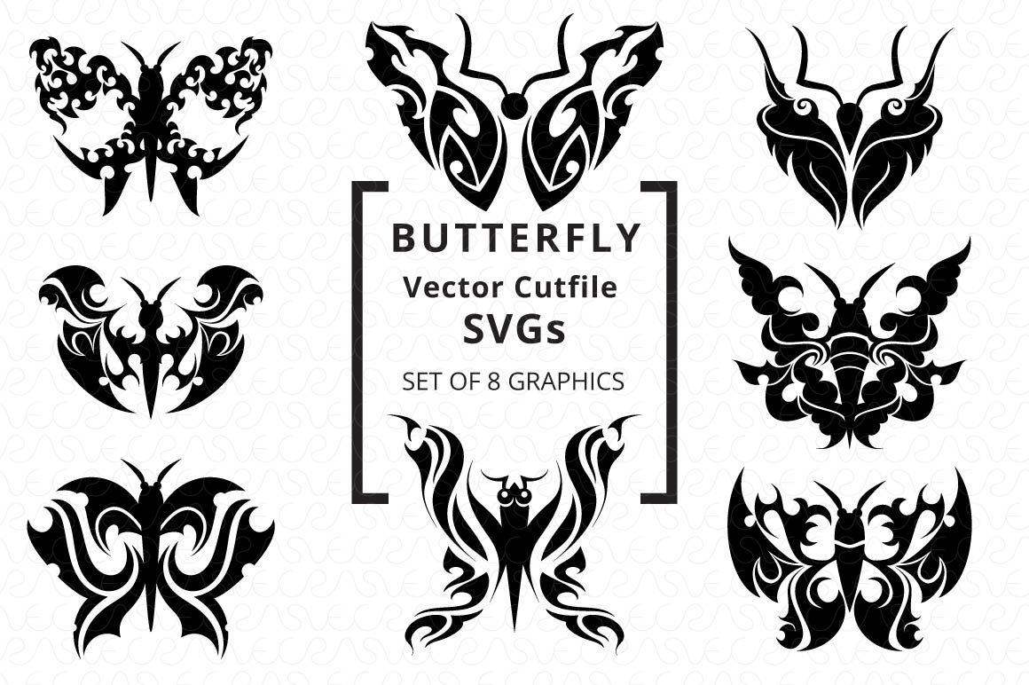 SVG Cutfiles Bundle-1 with 200 Unique Shapes example image 16
