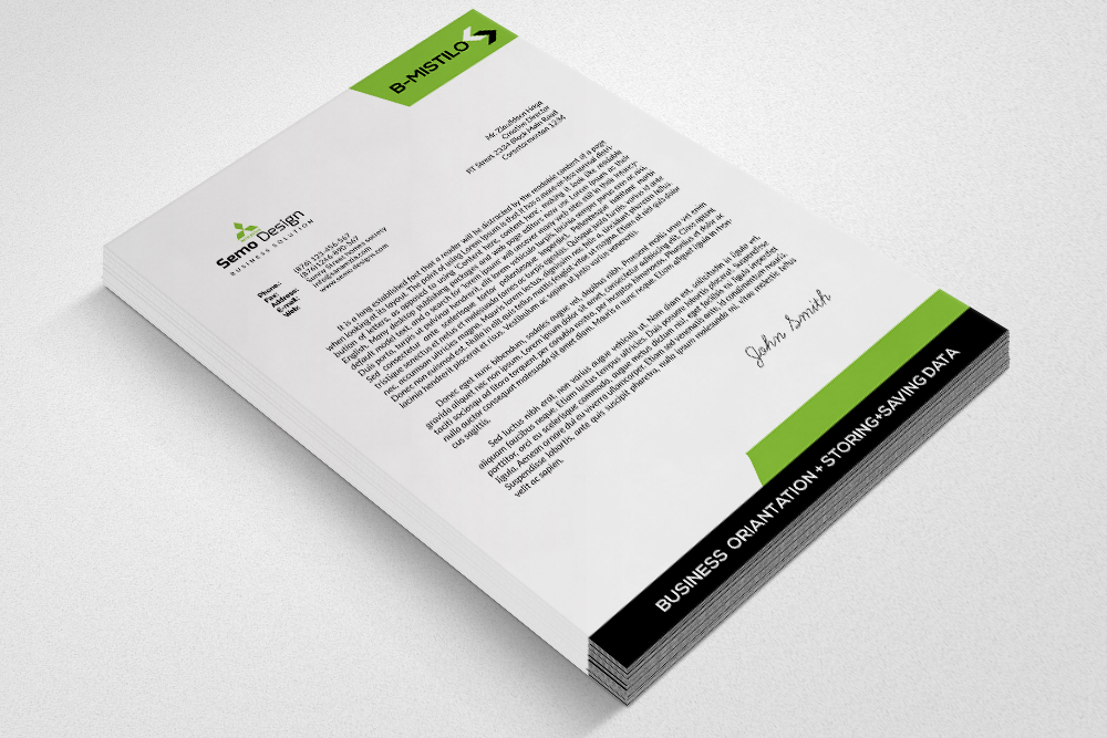 Corporate & Business Letterheads example image 3