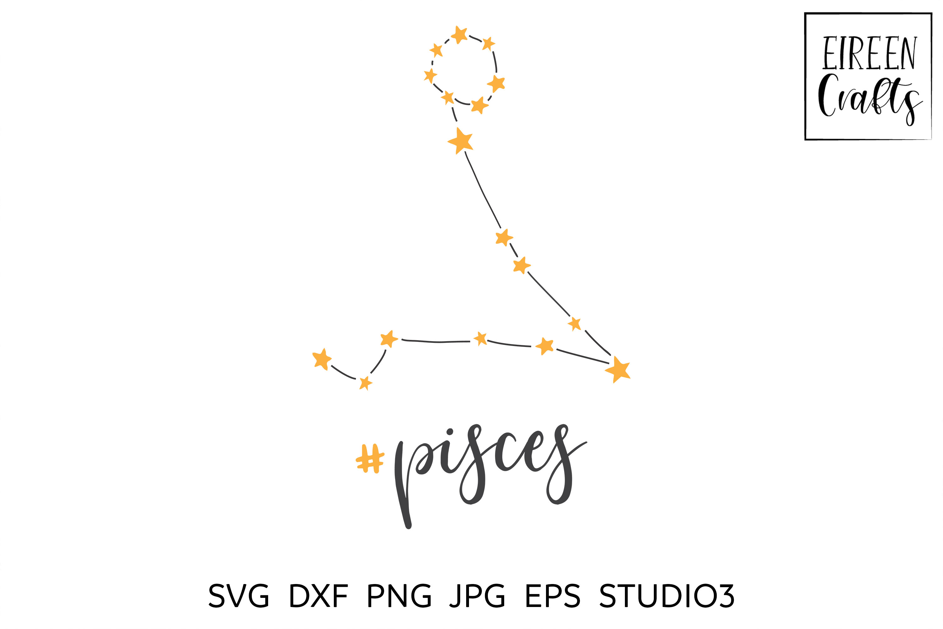 Zodiac SVG Bundle - Zodiac cut files for Cricut & Silhouette example image 13