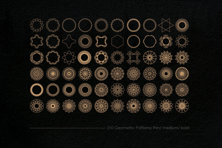 Geometric Patterns Kit example image 2