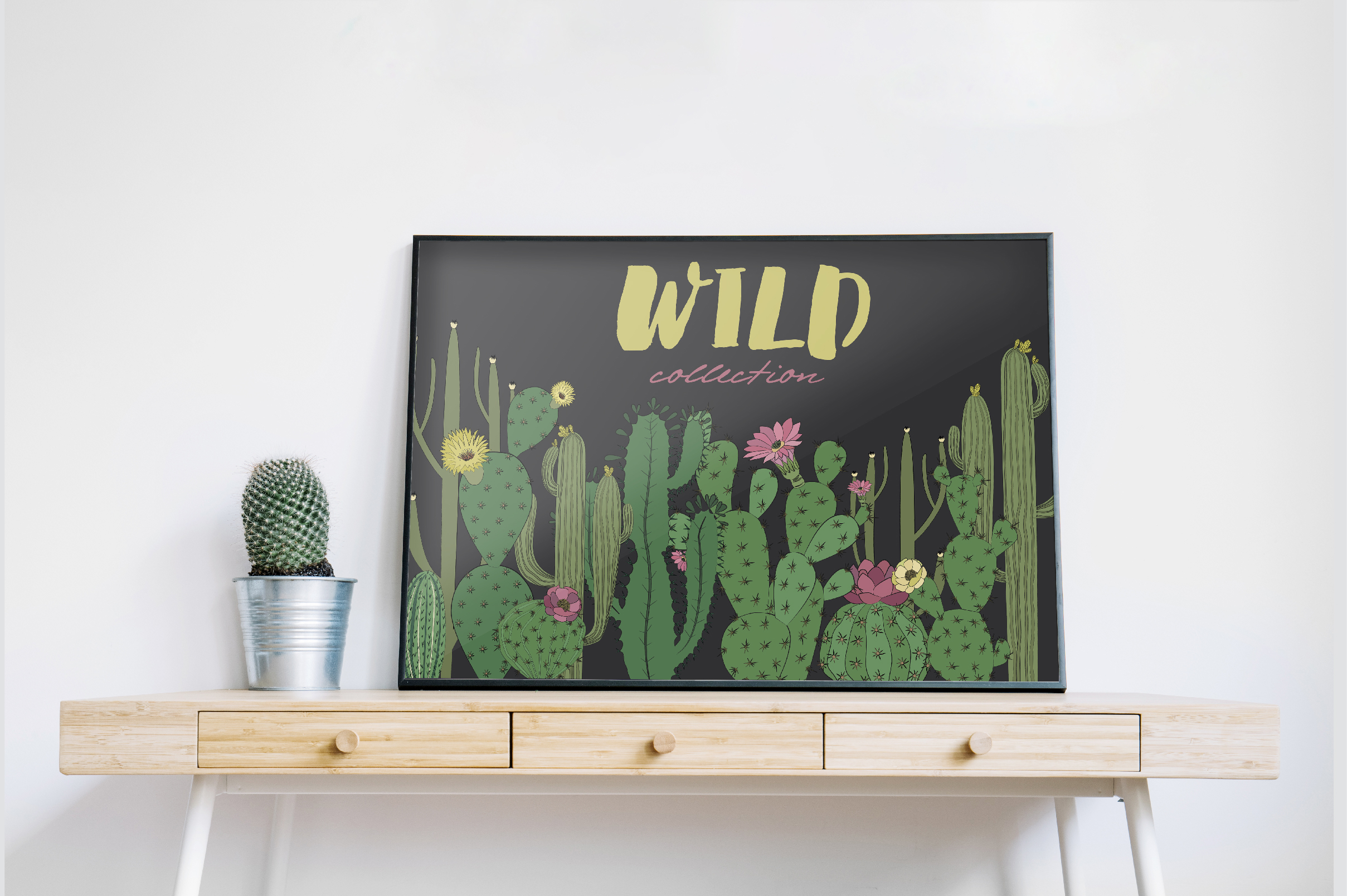 Wild & Free cactus collection example image 4