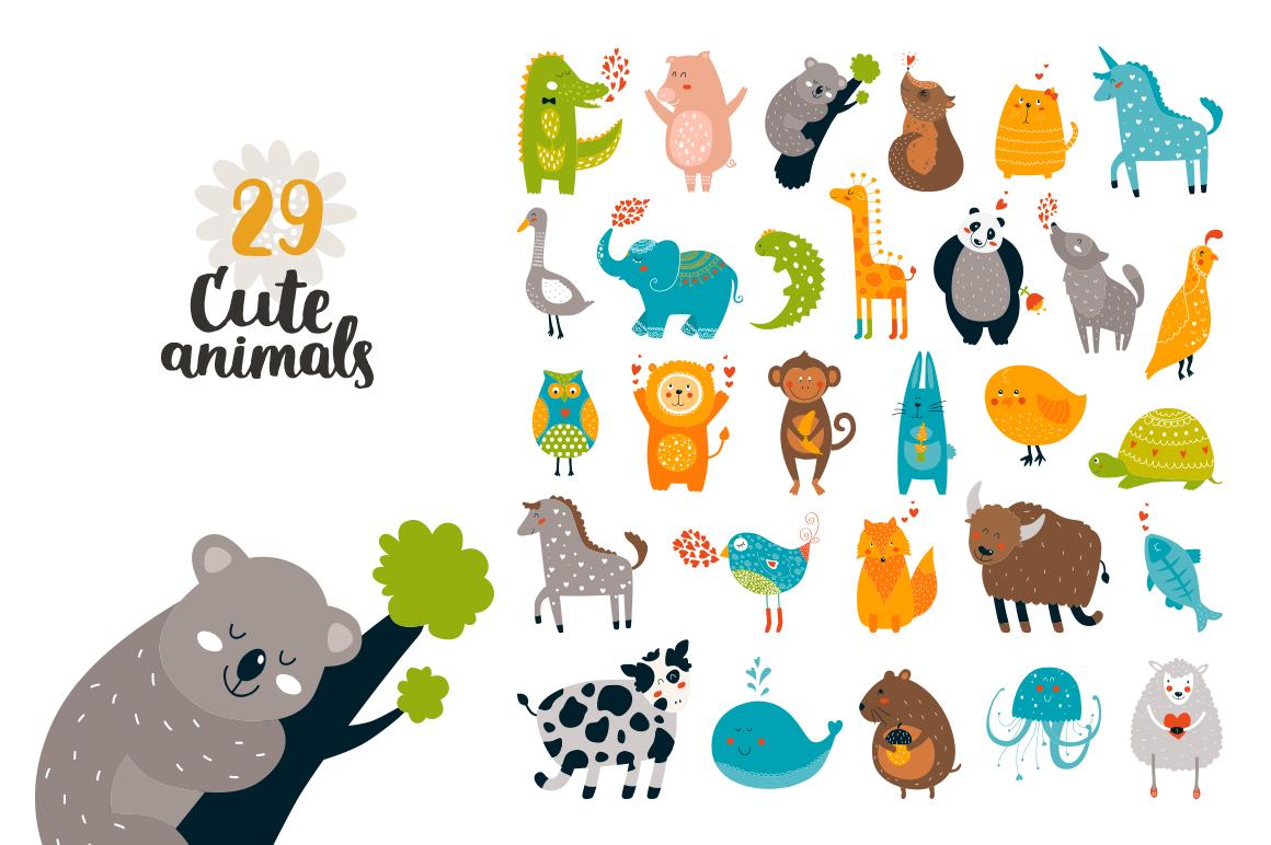 Cute Animals Bundle • 80% OFF example image 6