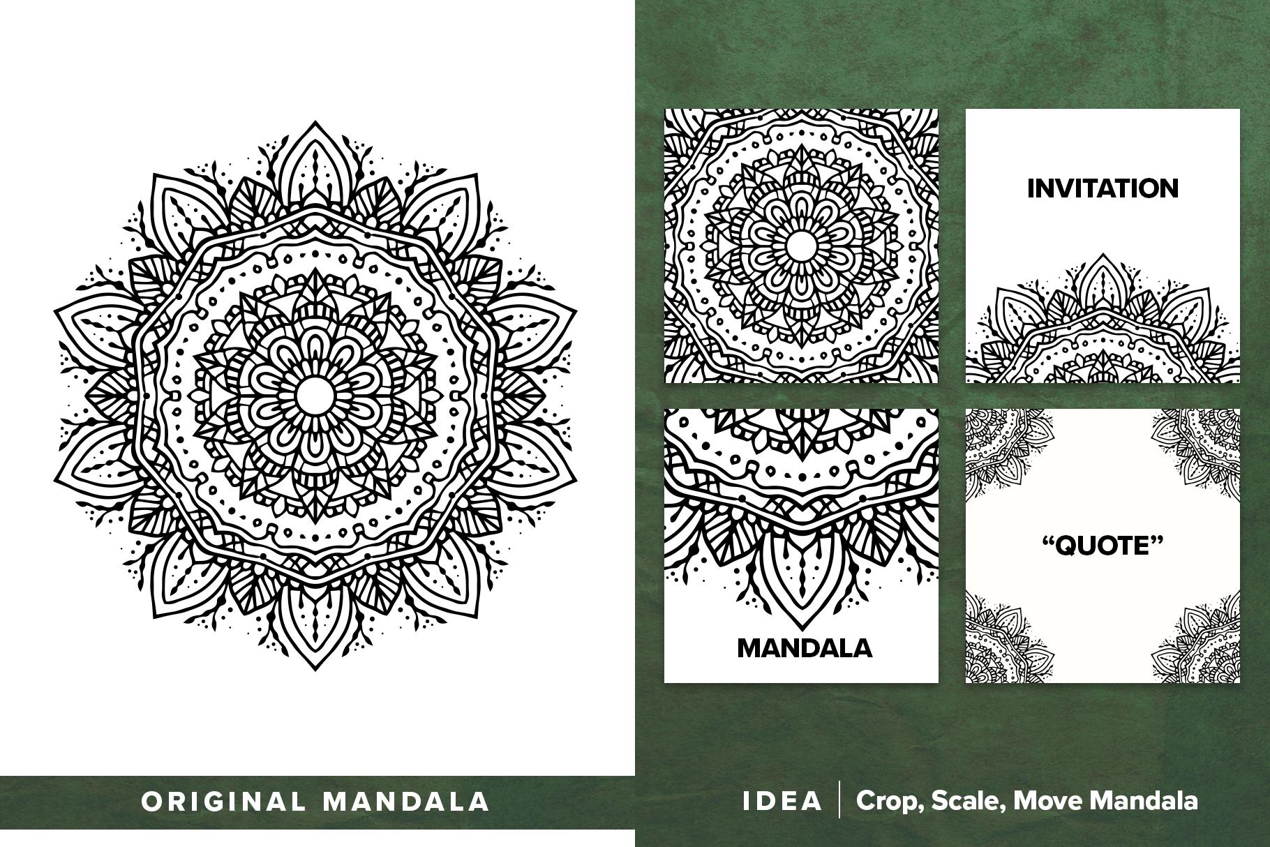 300 Vector Mandala Ornaments example image 2