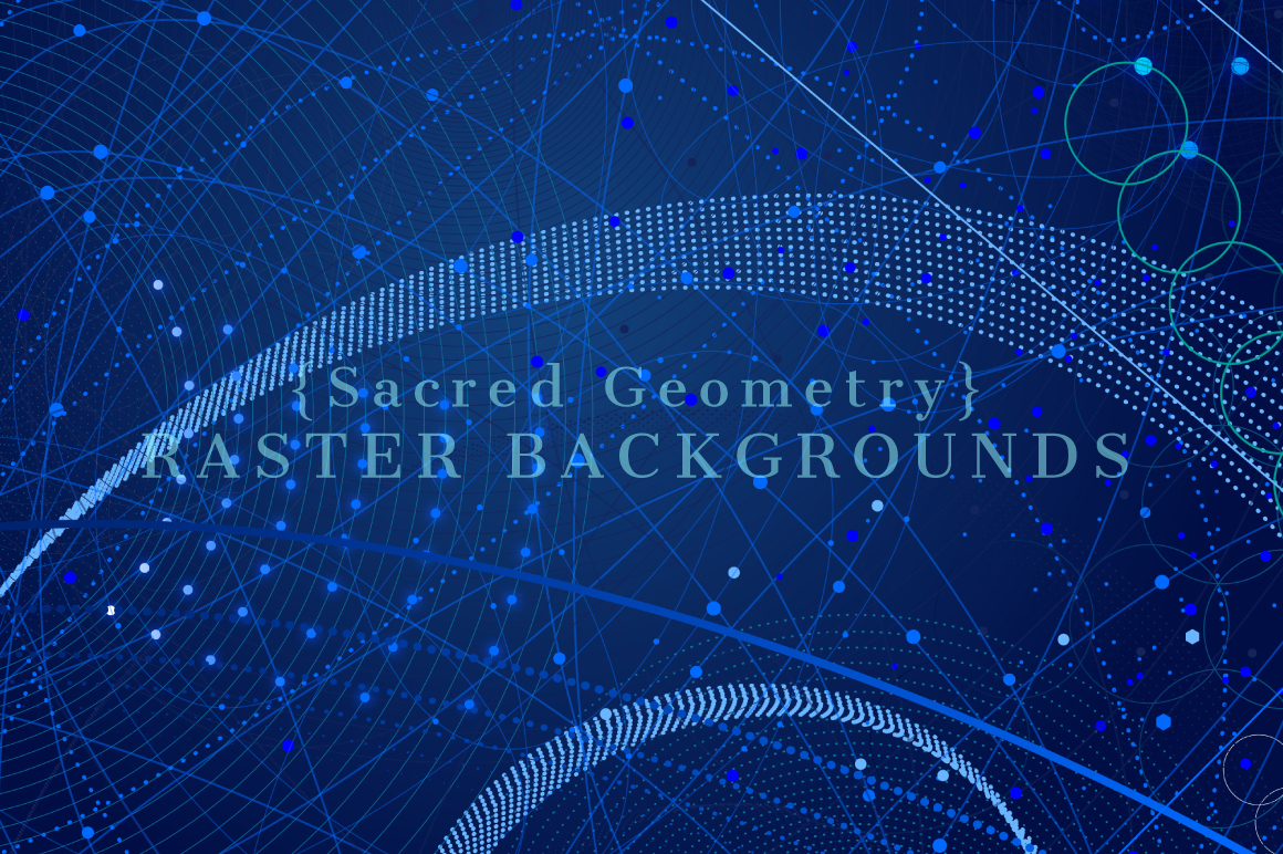 {Sacred Geometry} Raster Backgrounds example image 6
