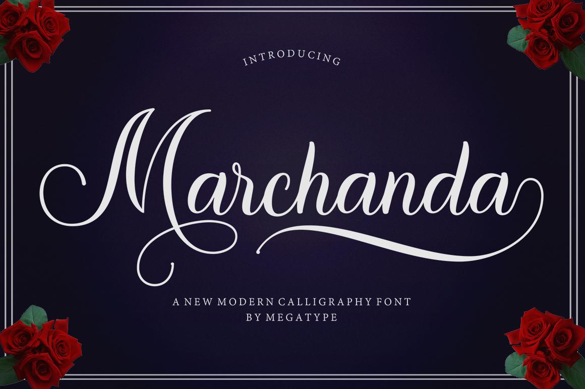 Marchanda Script example image 2