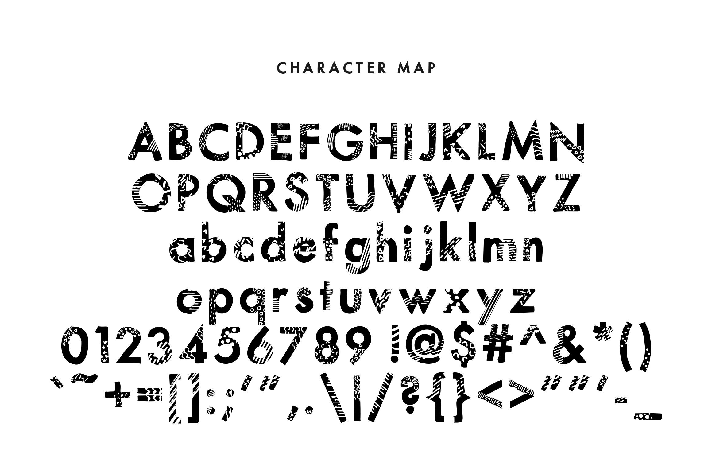 Prints - A Handdrawn Printed Modern Sans Serif example image 2