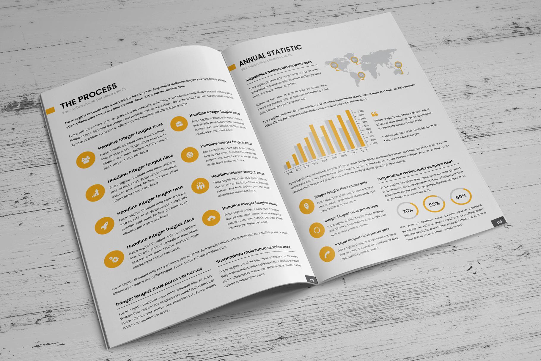 Company Profile Brochure v7 example image 6