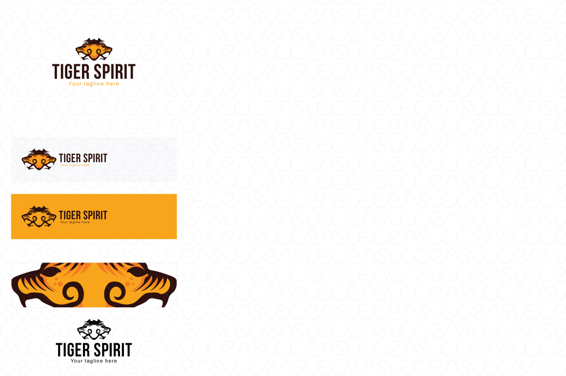 Lion Jaguar Tiger Animal Logo Templates Pack of 10 example image 5