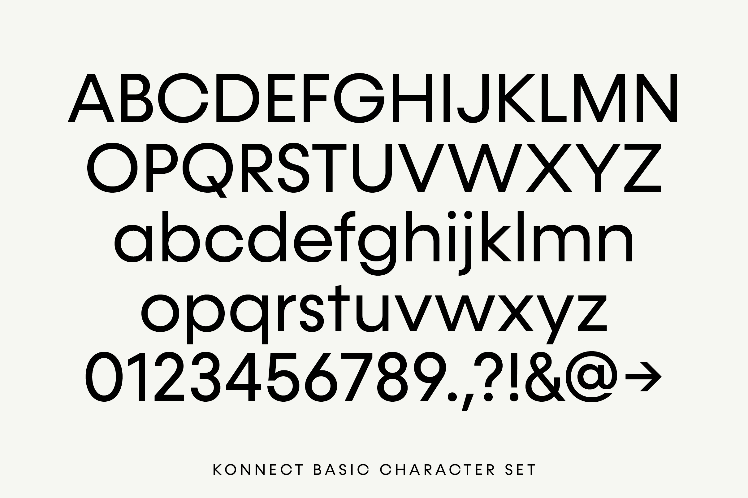 Konnect Regular & Italic Fonts example image 8