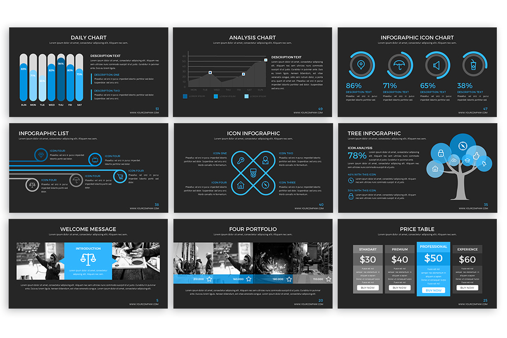 Clear Powerpoint Template example image 7