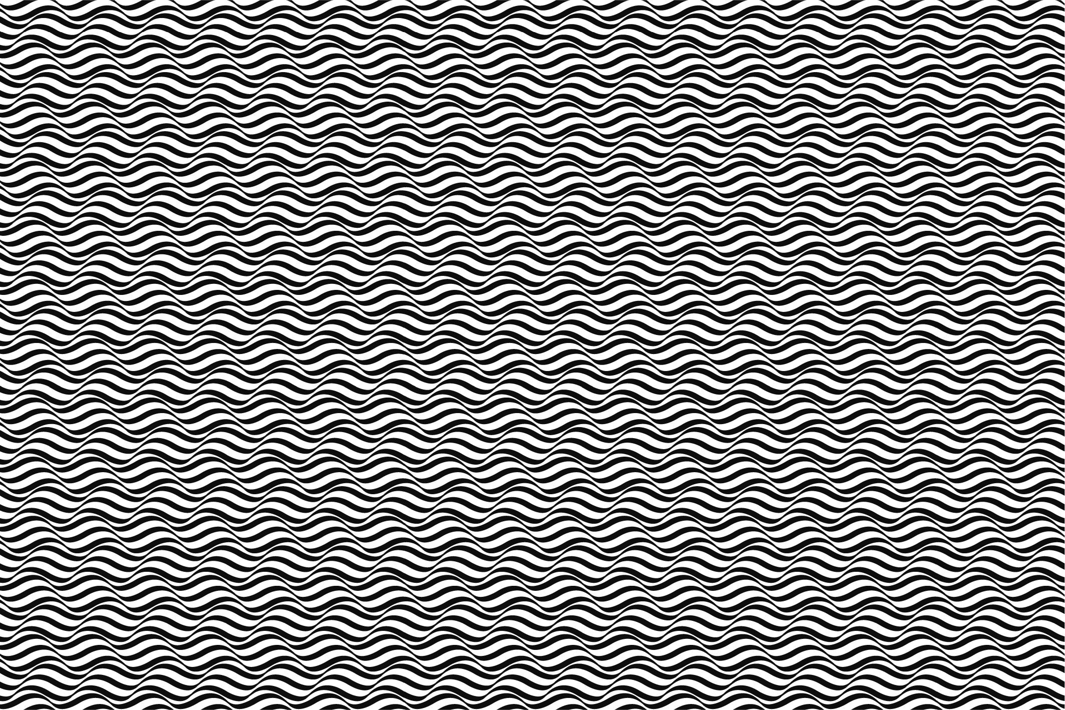 Wave&Zigzag seamless patterns. B&W. example image 4