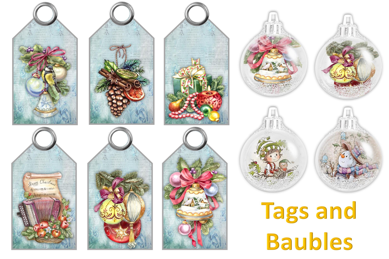 Mega Christmas Craft Bundle COmmercial Use example image 4