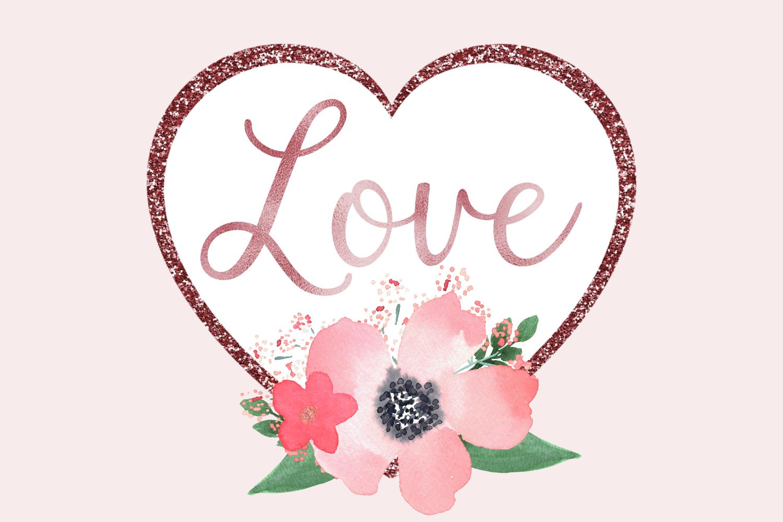 Blush & Bashful Blooms - Foil & Glitter example image 3