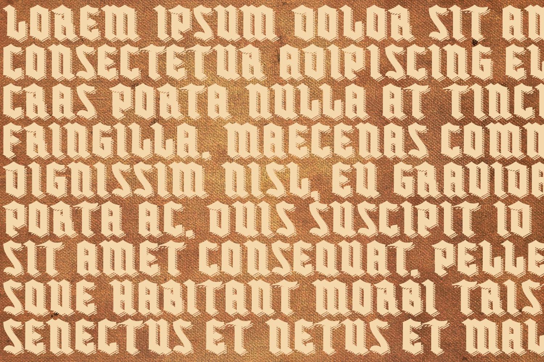 Buntisland Typeface Family example image 6