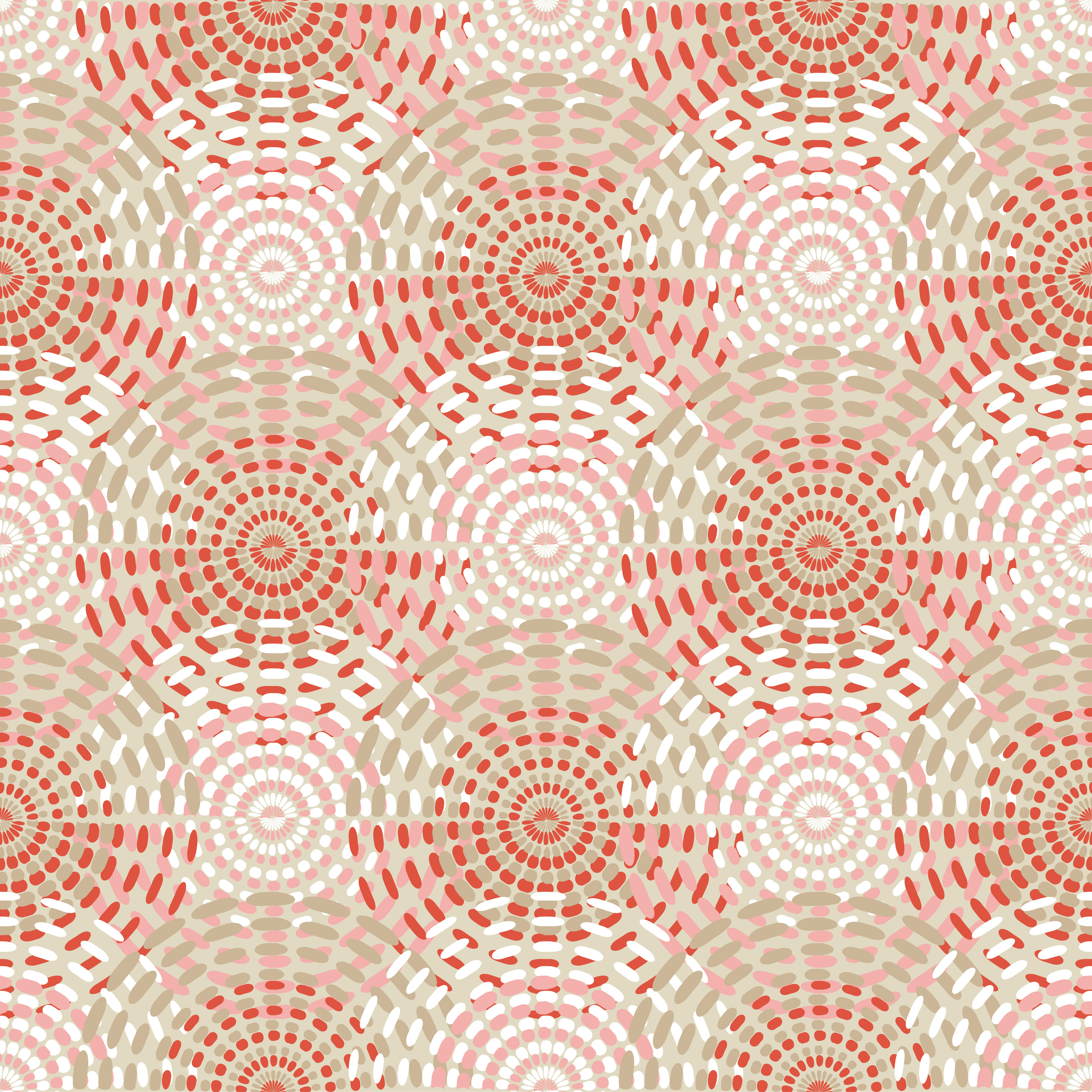 Polka dot seamless pattern. Dotted circle. Vector illustration. Textile rapport.  example image 1