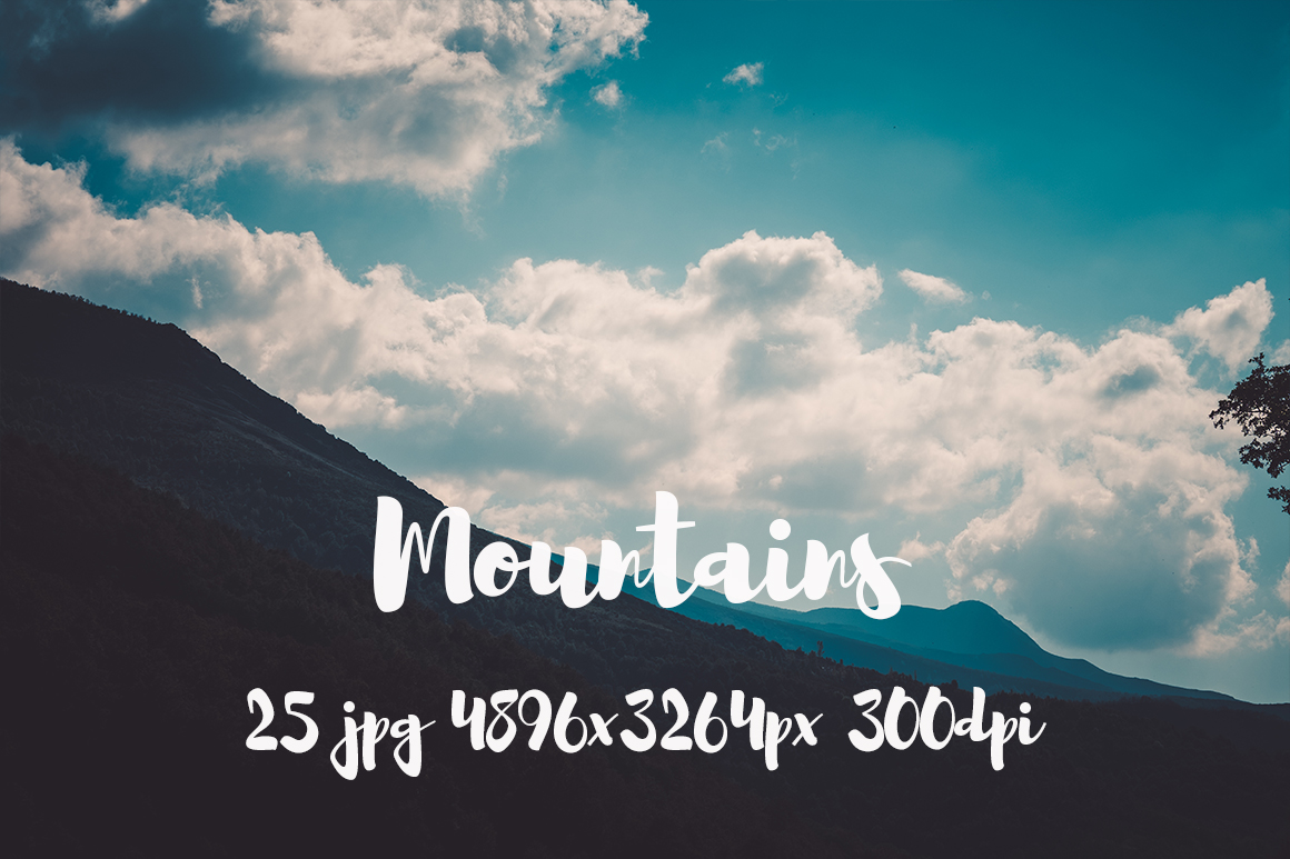 Mountains Pack example image 9