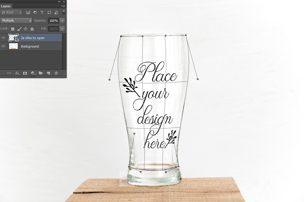 Beer glass mockup psd smart glasses mock up stock photo example image 2