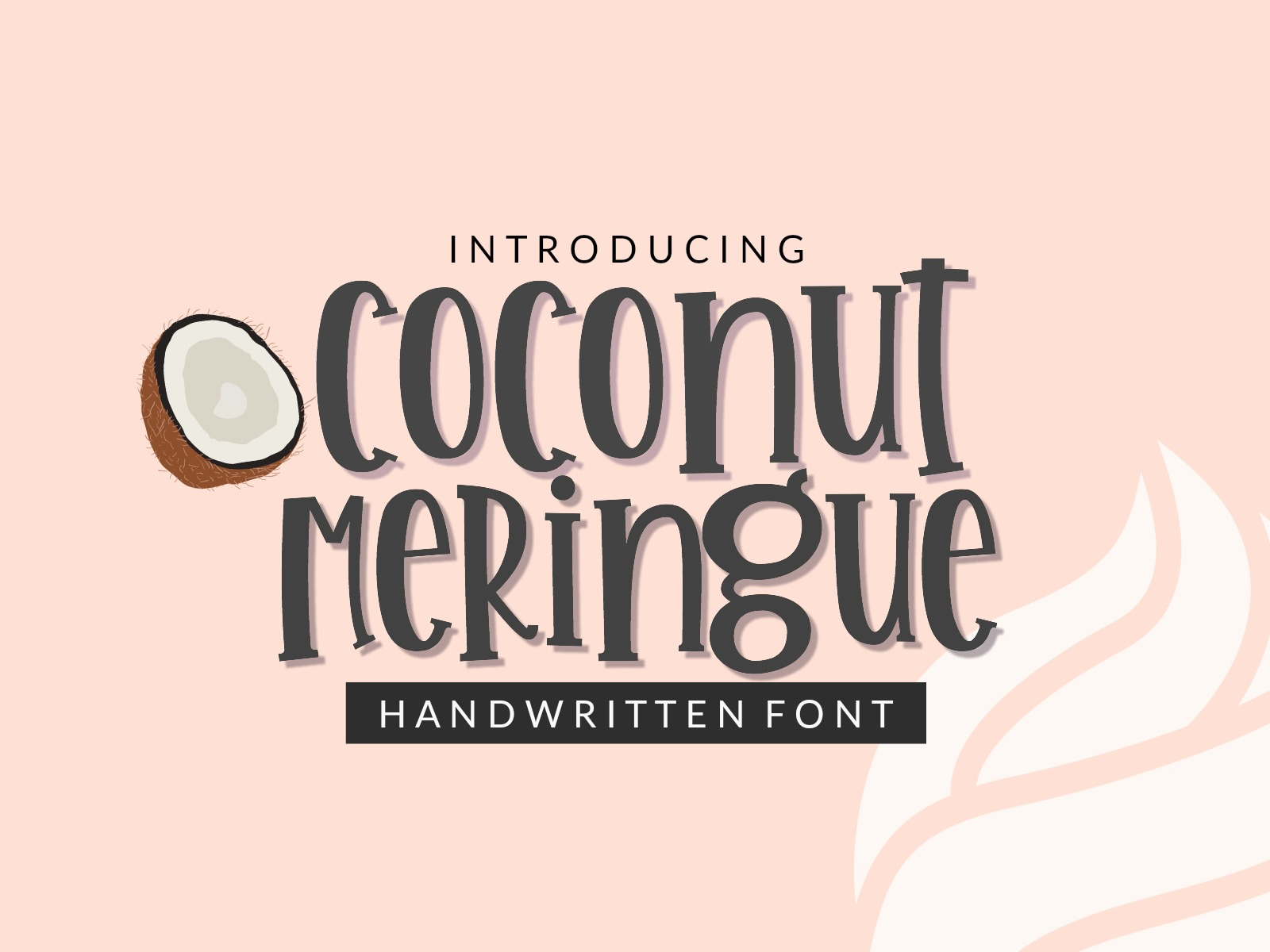 Handwritten Font Bundle - 4 Cut-friendly Fonts example image 2