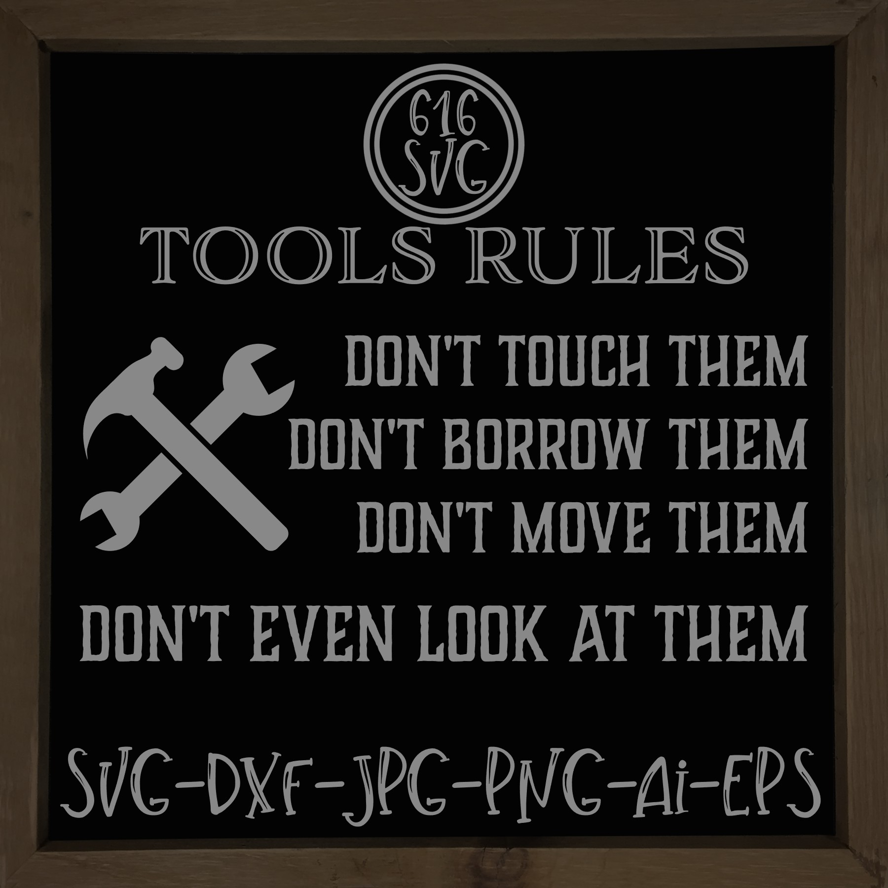 Tools Rules SVG, DXF, Ai, PNG example image 2