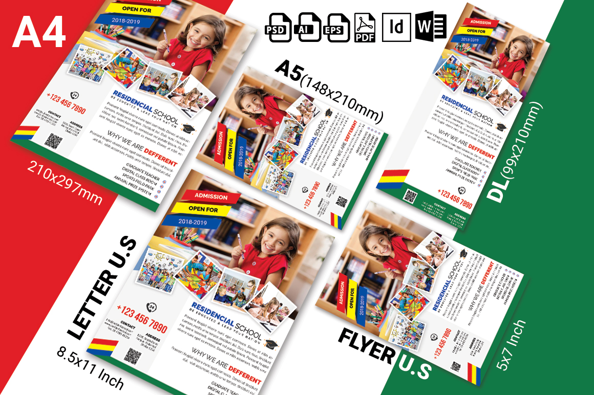 School Flyer Template Vol-01 example image 3