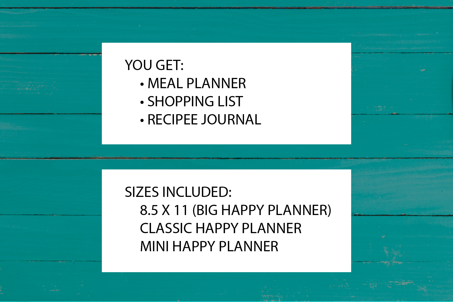 Meal Planner Printable example image 3